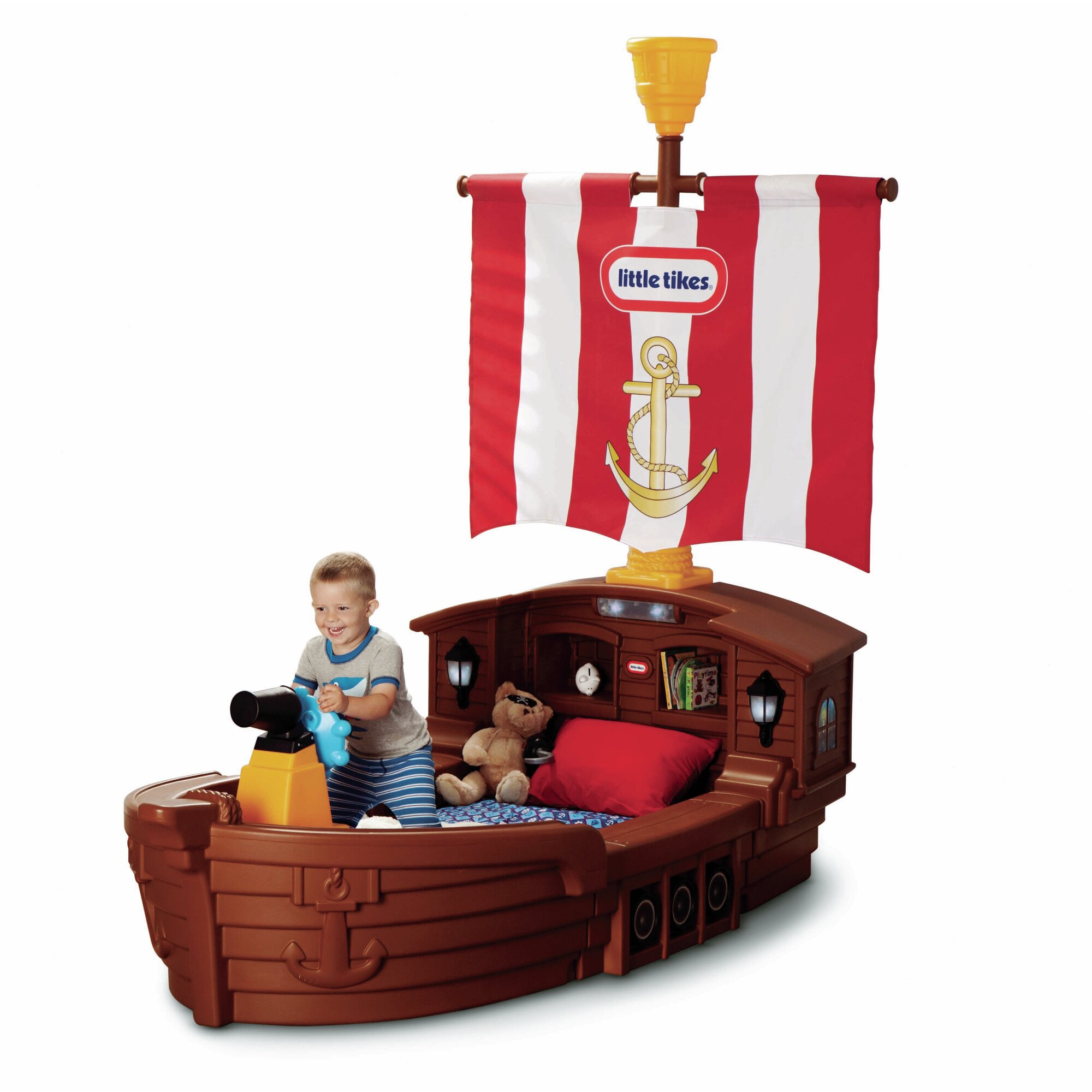 Little Tikes Pirate Ship Toddler Bed Amp Reviews