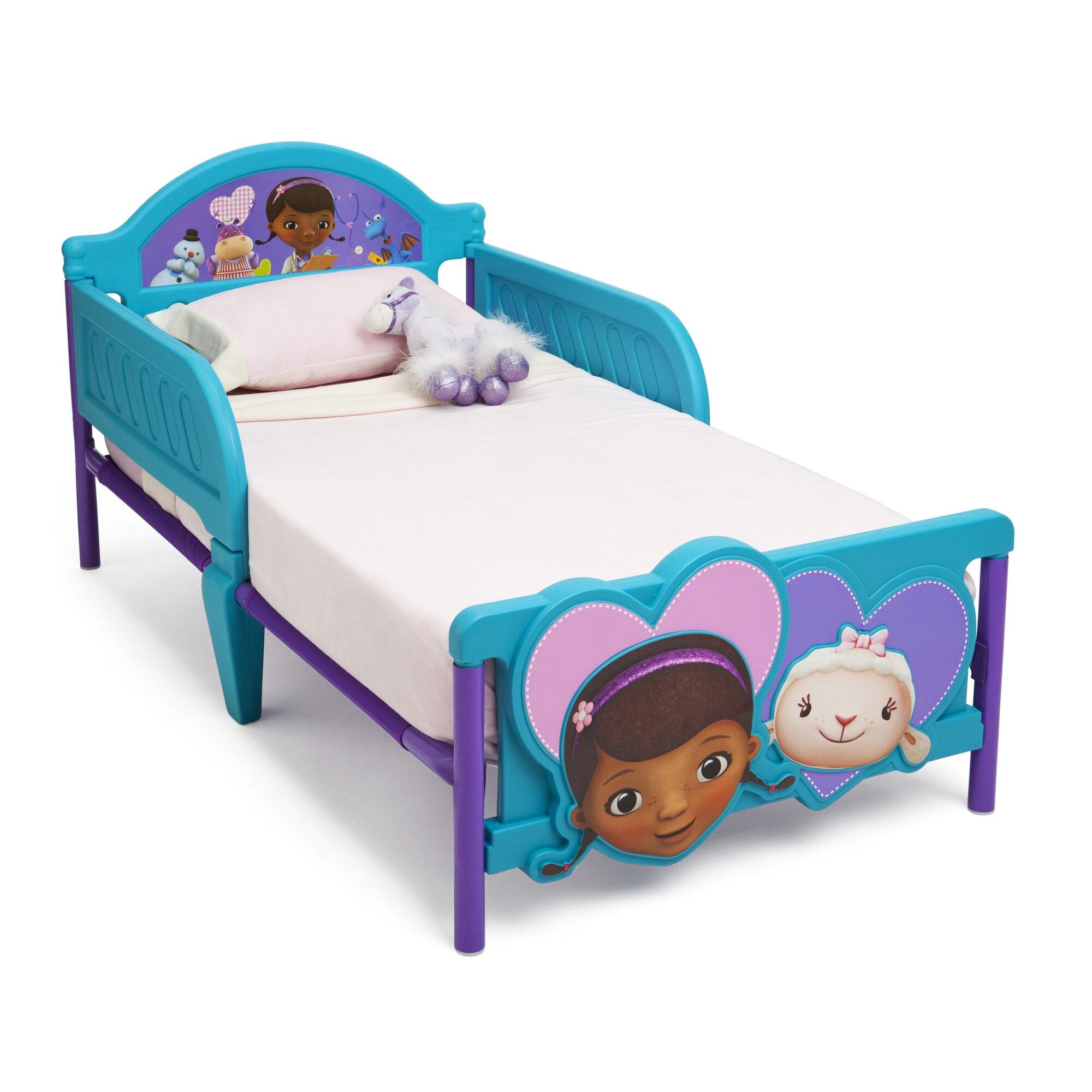 Delta Children Disney Doc McStuffins Convertible Toddler Bed ...