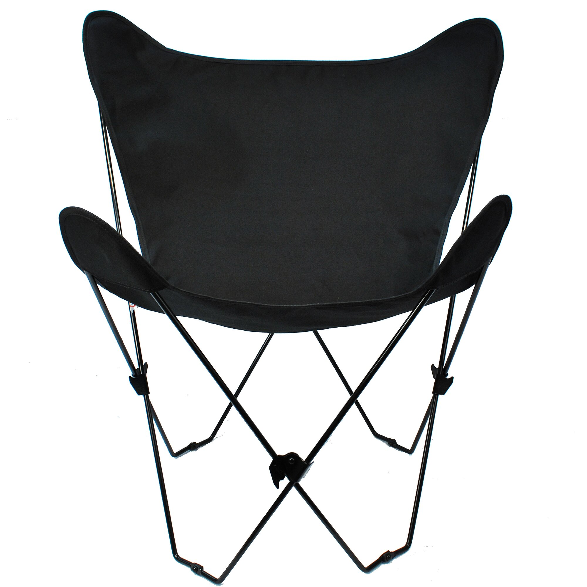 Butterfly chair black - Butterfly Camping Chair