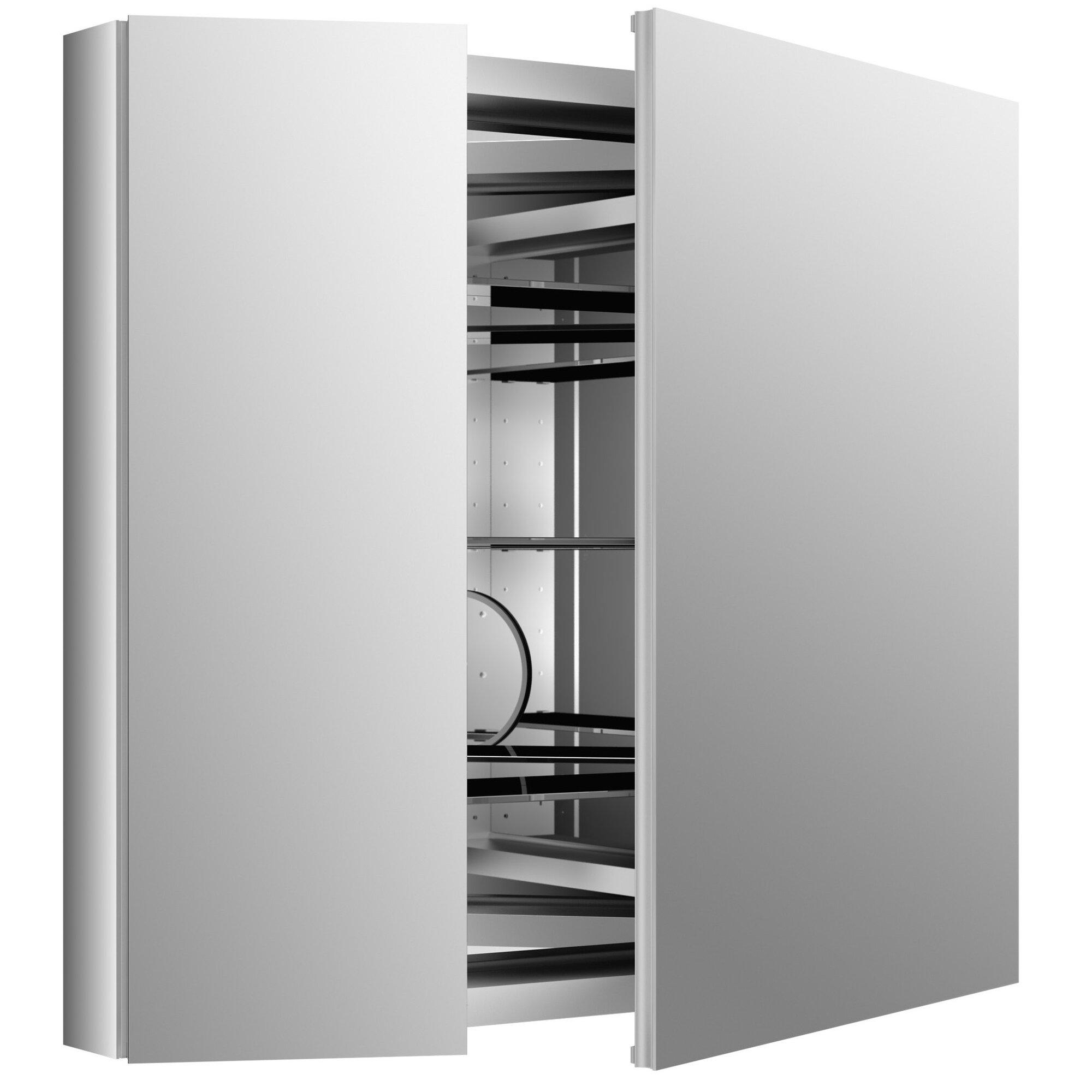 Kohler Verdera 34 Quot W X 30 Quot H Aluminum Medicine Cabinet