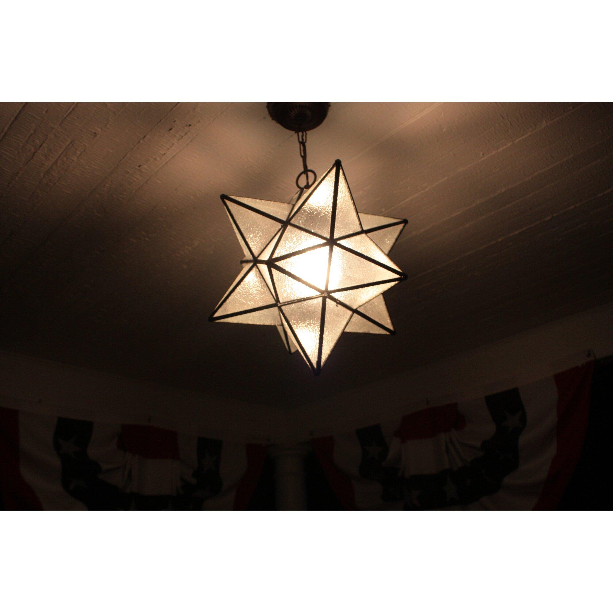 meyda tiffany moravian star 1 light mini pendant reviews. Black Bedroom Furniture Sets. Home Design Ideas