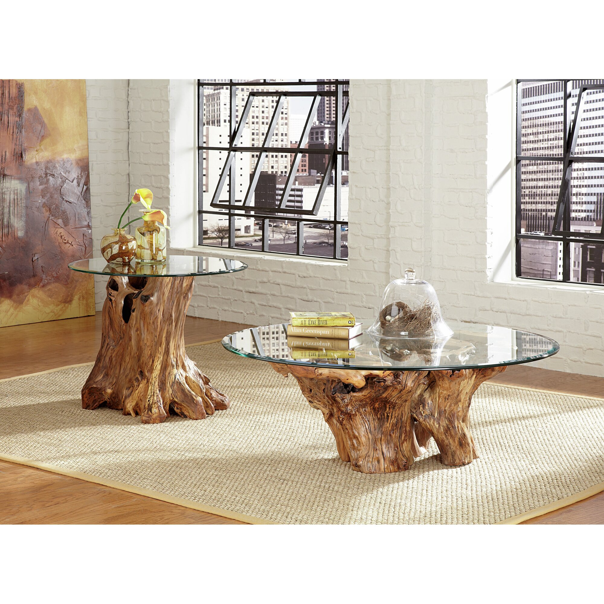 Elephant Glass Top Coffee Table Instacoffeetable