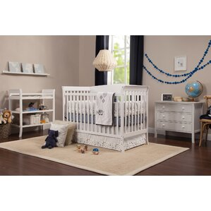 Tyler 4 In 1 Convertible 5 Piece Crib Set