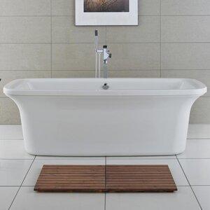 Aruba 180cm x 80cm Freestanding Soaking Bathtub