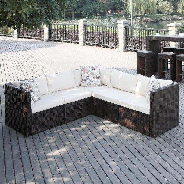 Mercury Row Lachesis Sectional With Cushions U0026 Reviews | Wayfair