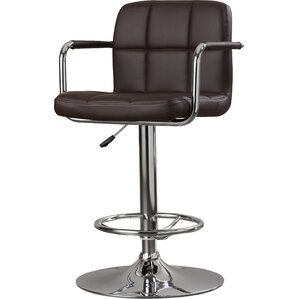 Faith Adjule Height Swivel Bar Stool