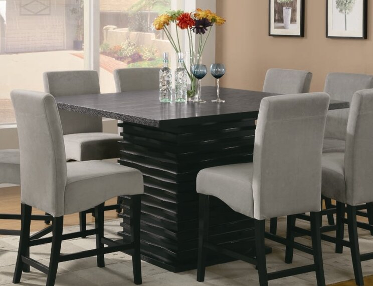 8 Seat Kitchen Dining Tables You Ll Love WayfairEmejing Room Sets Photos Ltrevents Com