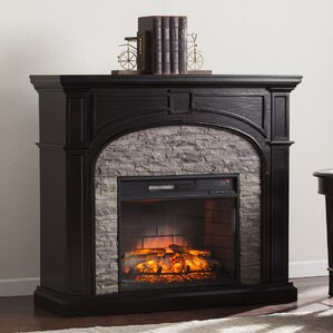 boylston stacked infrared electric fireplace