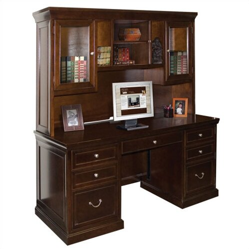 Kathy Ireland Home By Martin Furniture Fulton Executive Desk Reviews Wayfair