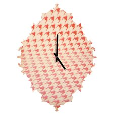 The Light Fantastic Houndstooth Polaroid Wall Clock
