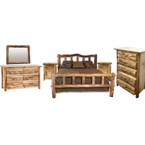 Rustic Arts Panel 6 Piece Bedroom Set