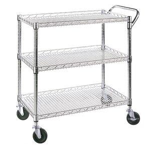 UltraZinc Shelf Commercial Utility Cart