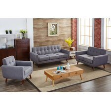 Attractive Tanner 3 Piece Living Room Set