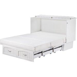 williamston queen storage murphy bed - Storage Bed Frame Queen