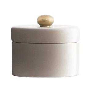 Pot Sugar Bowl with Lid