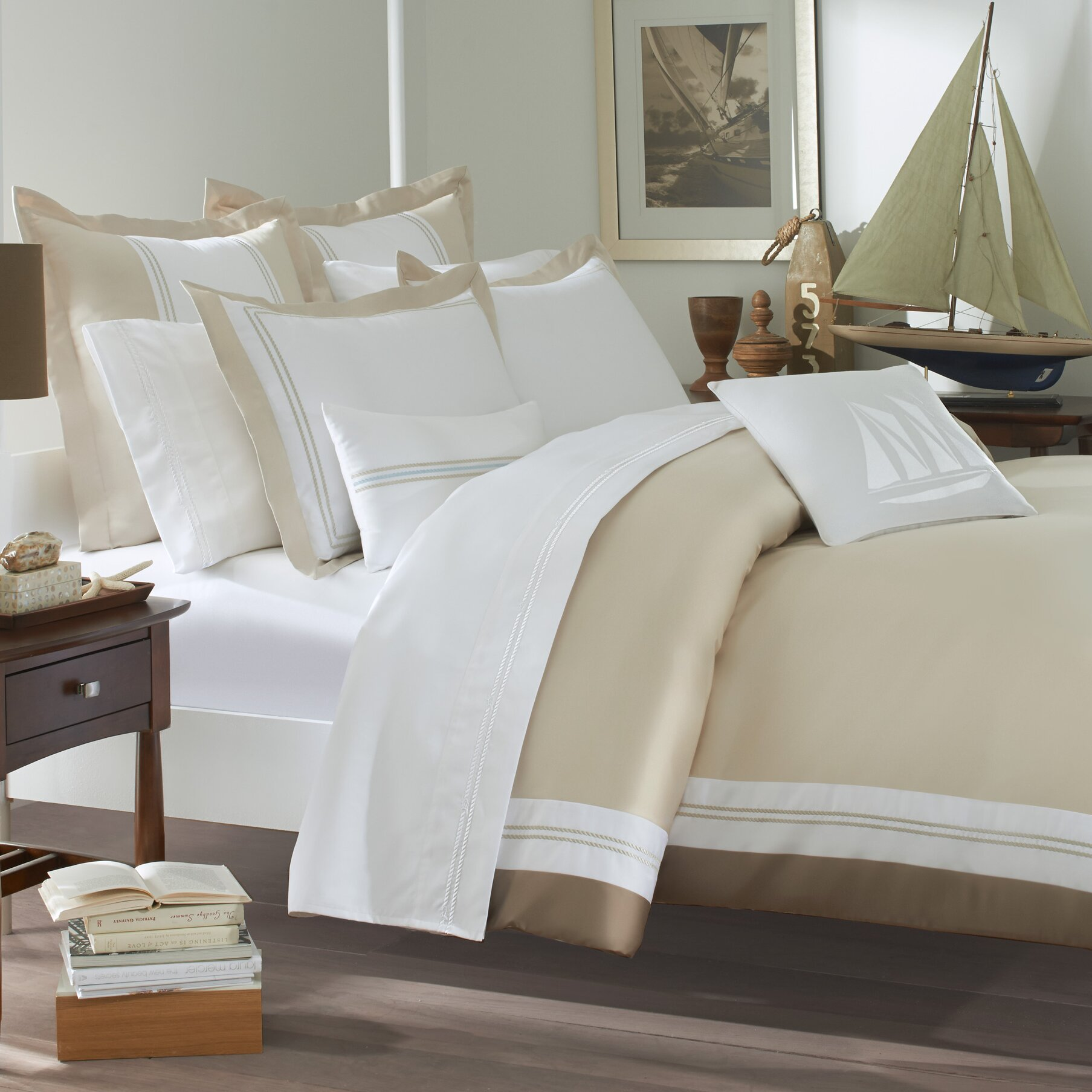 Southern tide maritime duvet cover collection reviews for Southern tide bedding