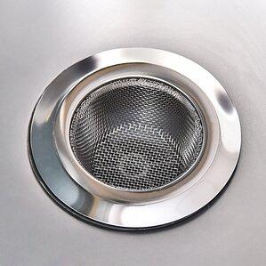 stainless steel kitchen sink strainer. Interior Design Ideas. Home Design Ideas