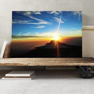 Landscape Kilimanjaro Mountain Photographic Print on Canvas