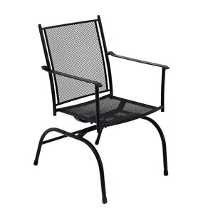 Cambridge Spring Action Mesh Dining Arm Chair (Set Of 2)