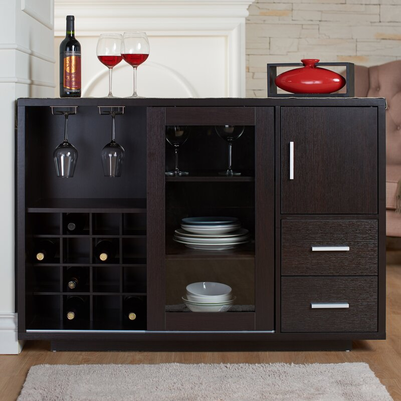 Dania Dining Server - Sideboards & Buffet Tables You'll Love Wayfair