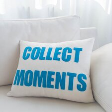 Collect Moments Canvas Lumbar Pillow
