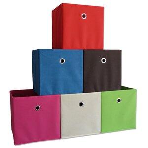 Boxas Foldable Fabric Storage Basket (Set of 10)