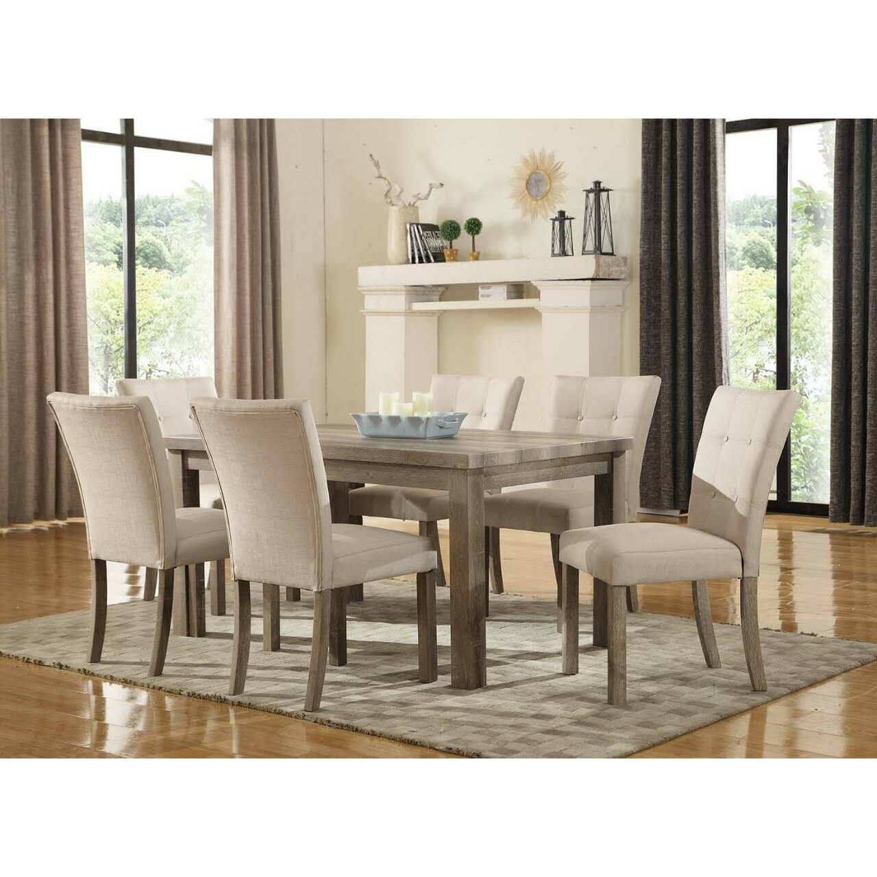 urban accents furniture. urban accents furniture 7 piece dining set