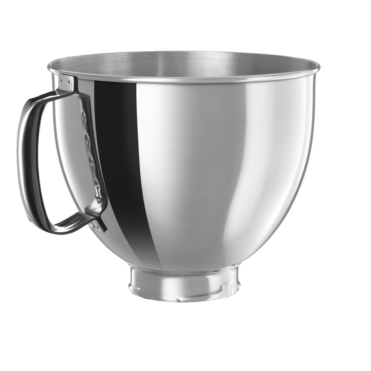 KitchenAid 5 Qt. Polished Stainless Steel Bowl with Handle for ...