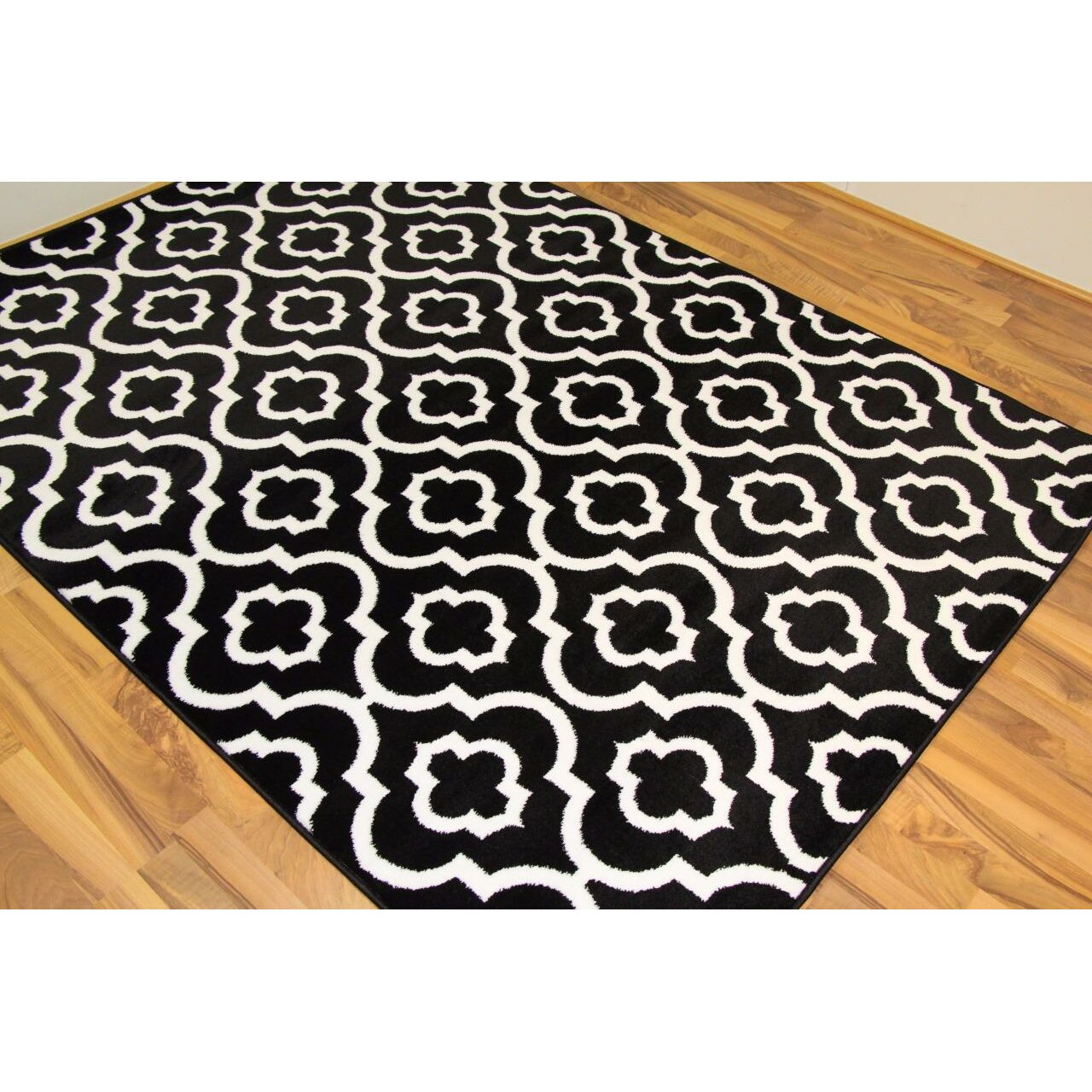 Indoor Outdoor Rugs Black And White: Varick Gallery Catalan Black/White Indoor/Outdoor Area Rug