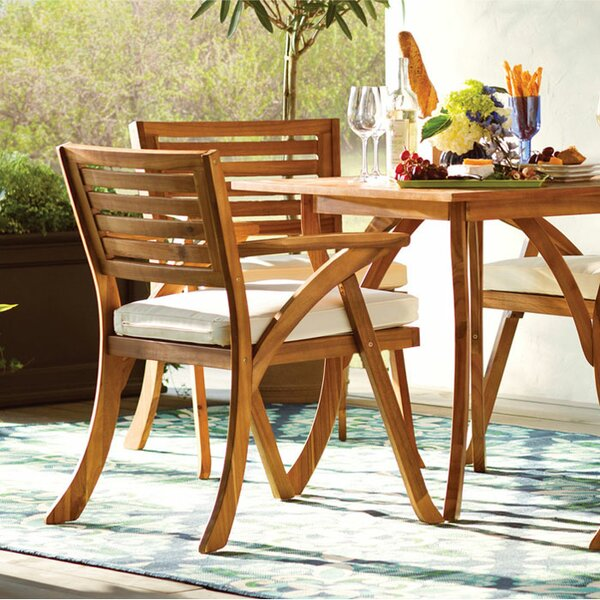 Wooden Garden Table And Chairs Part - 46: Wood Patio Furniture