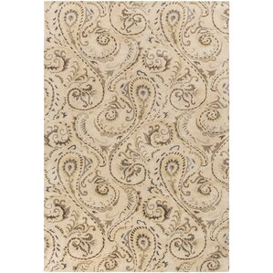 Houser Hand Tufted Floral And Paisley Area Rug