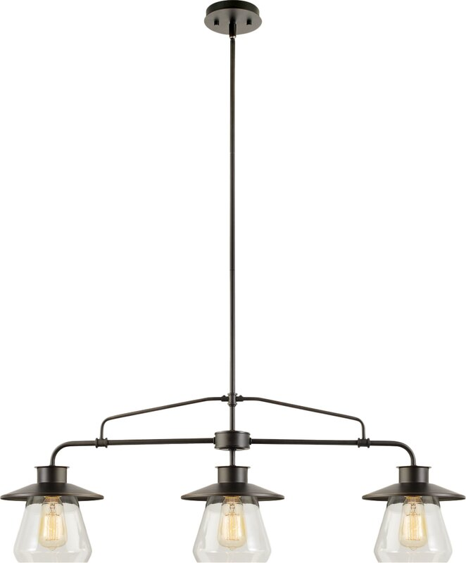 Breakwater Bay Zoey 3 Light Kitchen Island Pendant