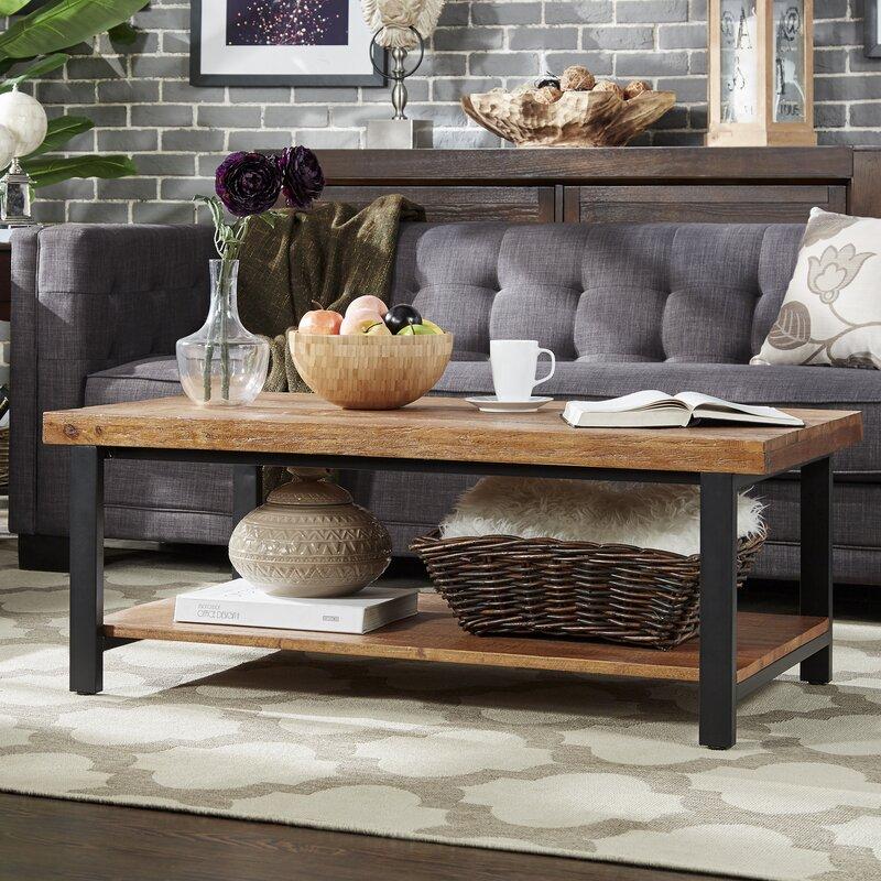 mercury row leo coffee table & reviews | wayfair