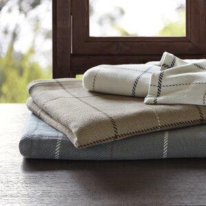 Wilton Yarn Dyed Cotton Blanket by Woolrich