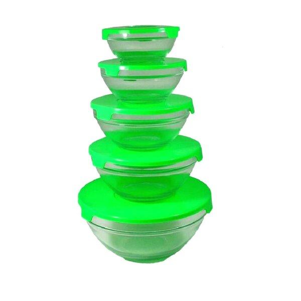 Alpine cuisine alphine cuisine nested glass bowl 5 for Alpine cuisine glass bowl set
