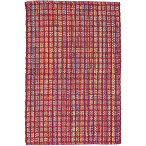 Hand Woven Red Indoor/Outdoor Area Rug