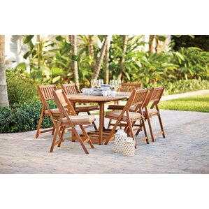 Eaton 7 Piece Dining Set With Cushion