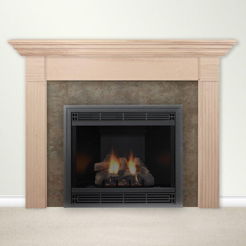 Housewarmer Fireplace Mantel Surround with Shelf & Reviews | Wayfair