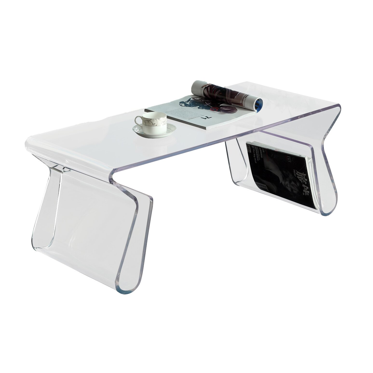 Modway Magazine Coffee Table & Reviews