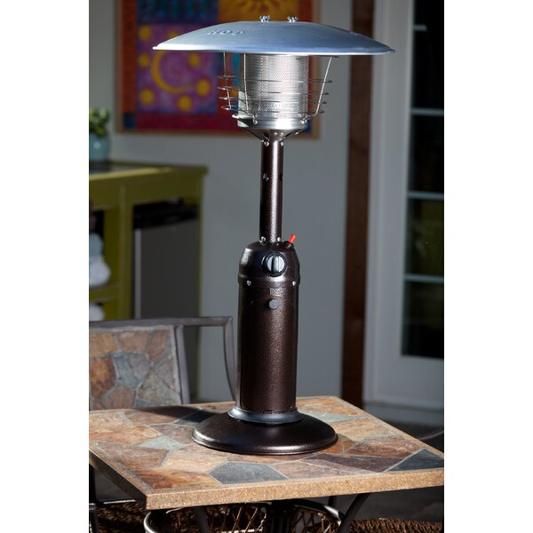 Fire Sense 10,000 BTU Propane Tabletop Patio Heater U0026 Reviews | Wayfair
