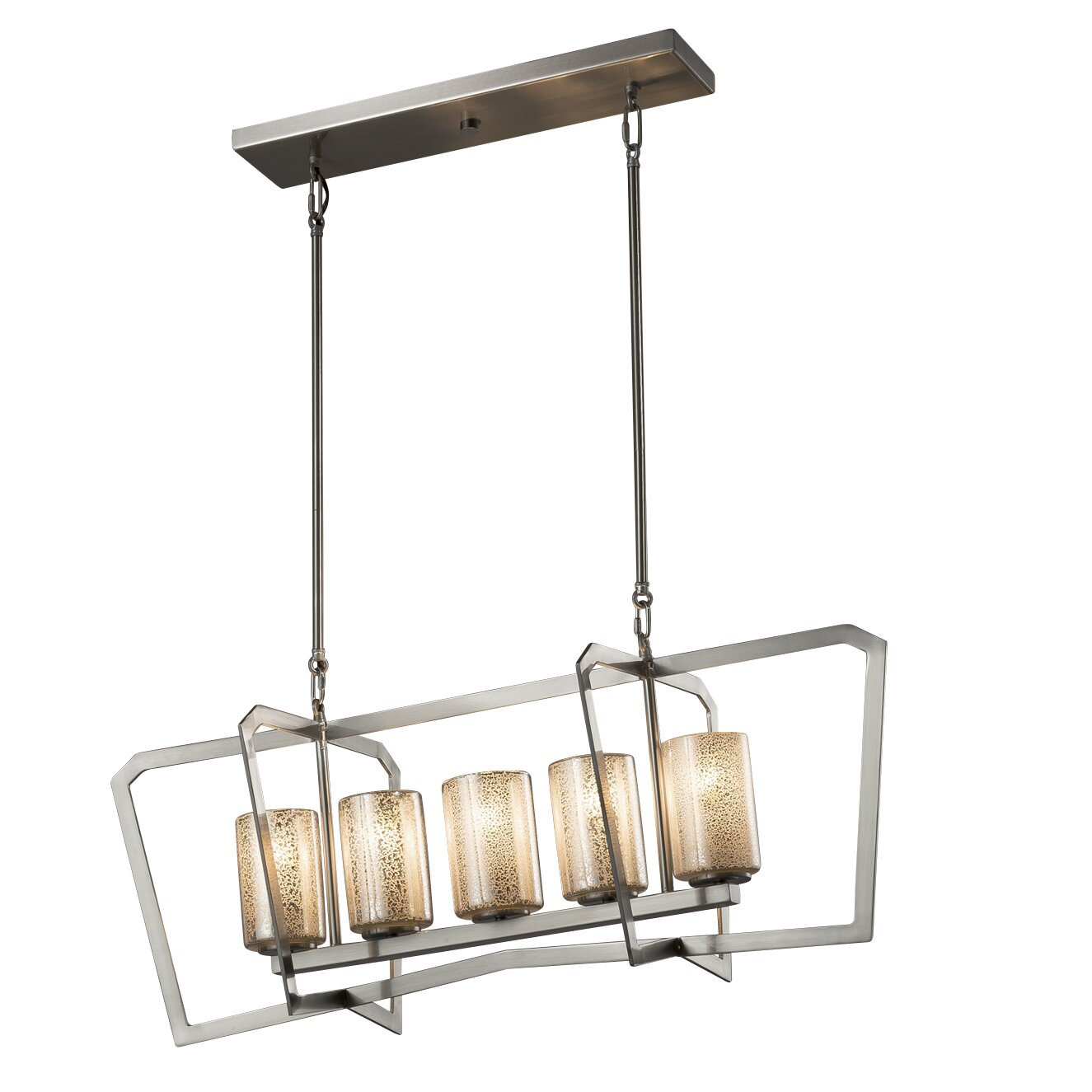 Brayden Studio Luzerne 5-Light LED Kitchen Island Pendant