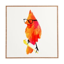 Punk Bird by Robert Farkas Framed Painting Print