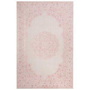 Alamosa Ivory & Pink Area Rug