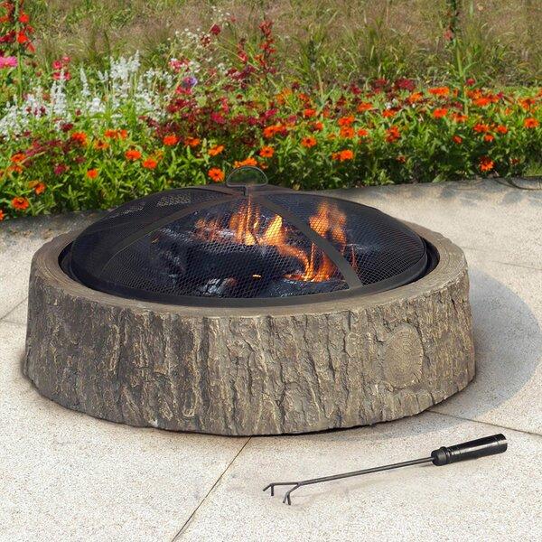 Sunjoy Steel Cheyenne Fire Pit Amp Reviews Wayfair