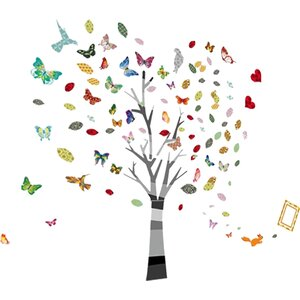 Nursery Room Photo Tree Wall Sticker