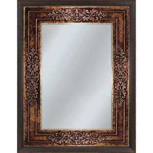 Vanity mirrors wayfair for Bronze framed bathroom mirror