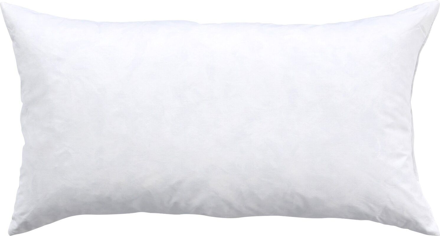 down feather pillow insert