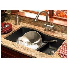 """32"""" x 21"""" Double Basin Undermount Kitchen Sink"""