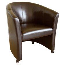 Baxton Studio Barrel Chair