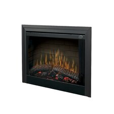 "39"" Wall Mount Electric Fireplace Insert"